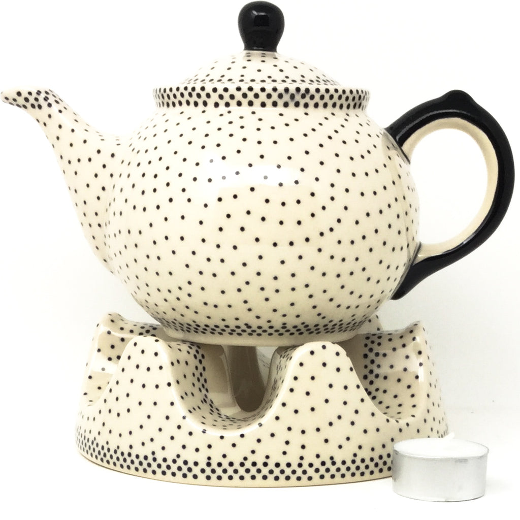 Morning Teapot 1 qt in Black Elegance