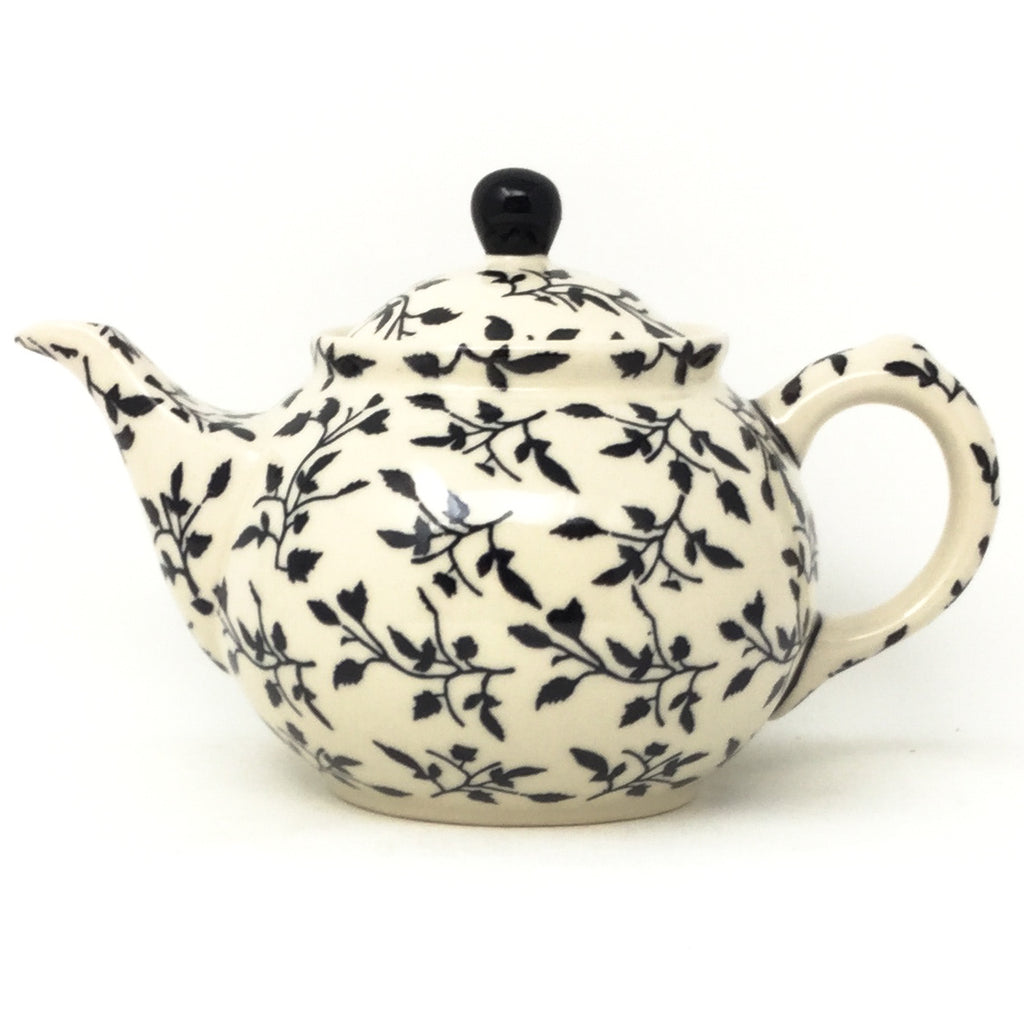 Morning Teapot 1 qt in Simply Black
