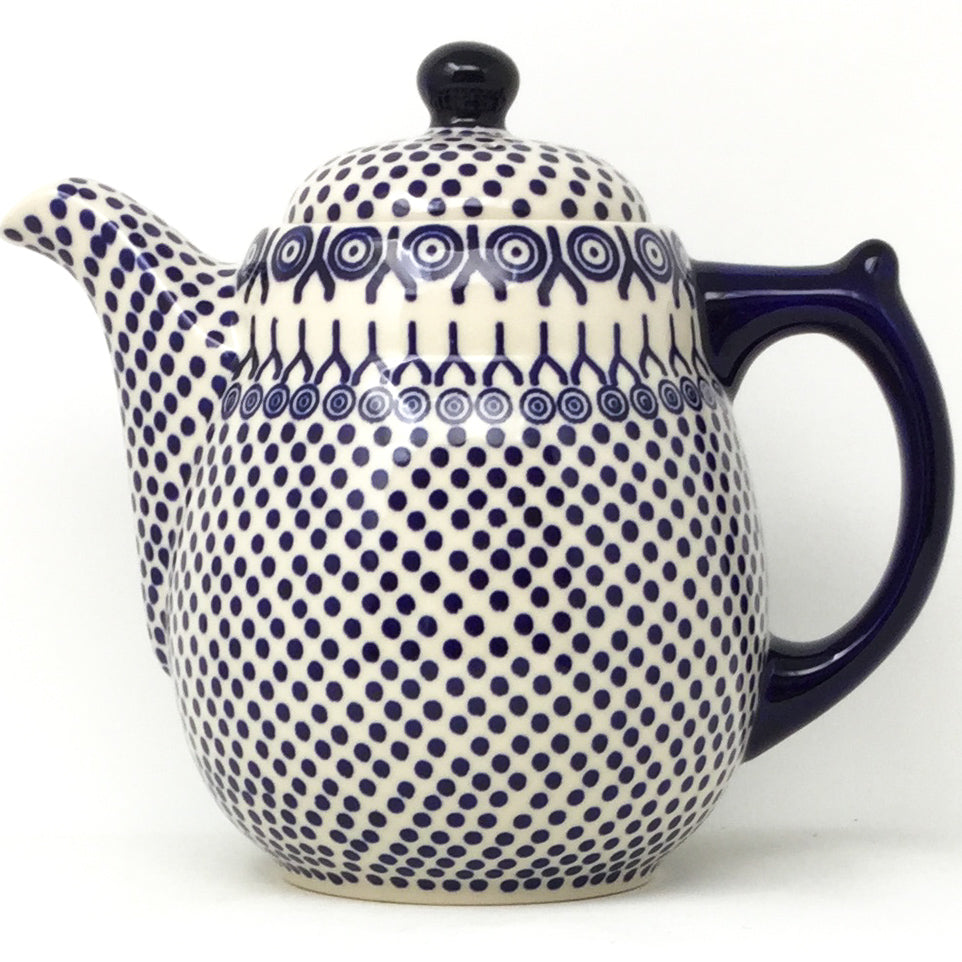Tall Teapot 2 qt in Icelandic White