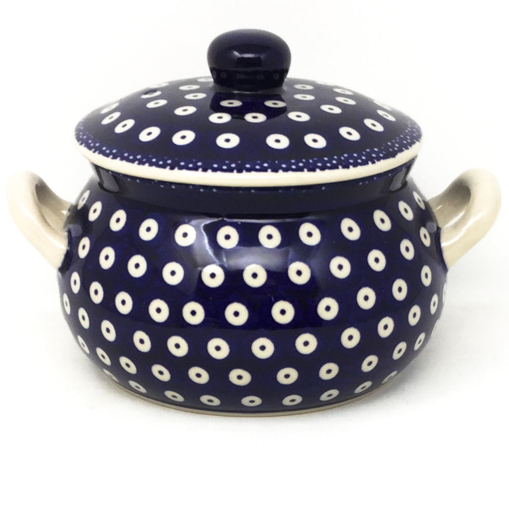 Covered Tureen 1 qt in Traditional Blue