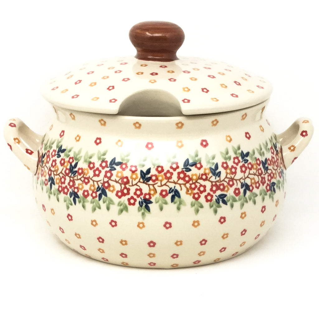 Covered Tureen 4 qt in Tiny Flowers