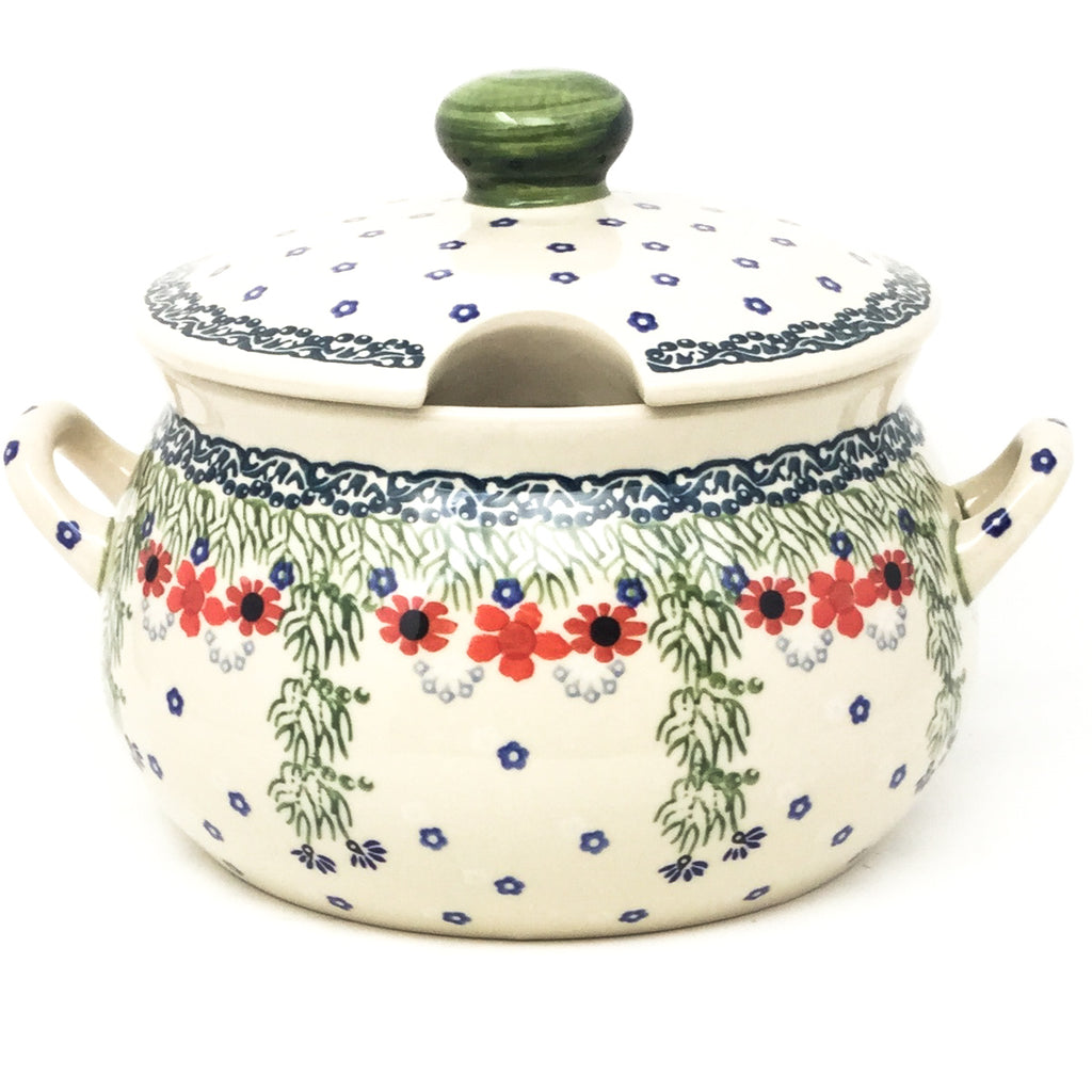 Covered Tureen 4 qt in Dill Flowers