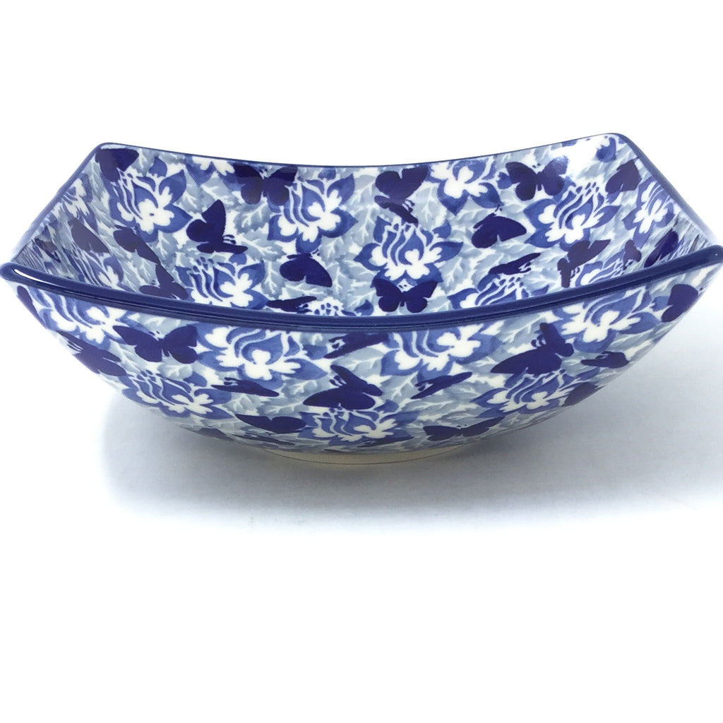 Sm Nut Bowl in Blue Butterfly