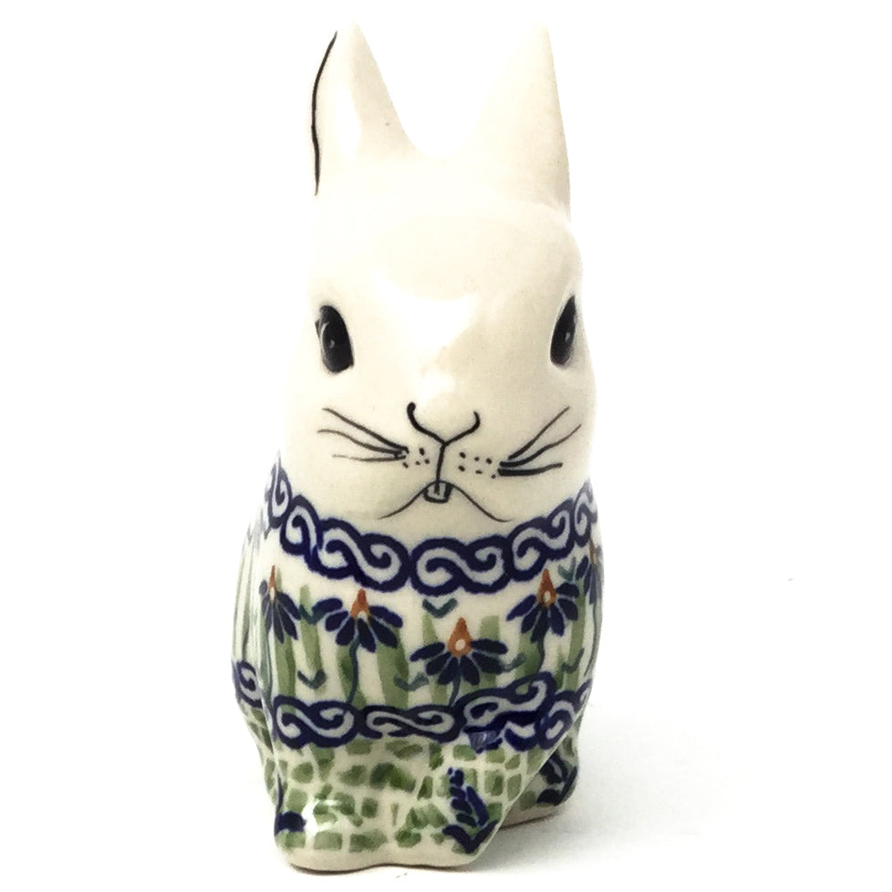 Lg Rabbit-Miniature in Blue Iris