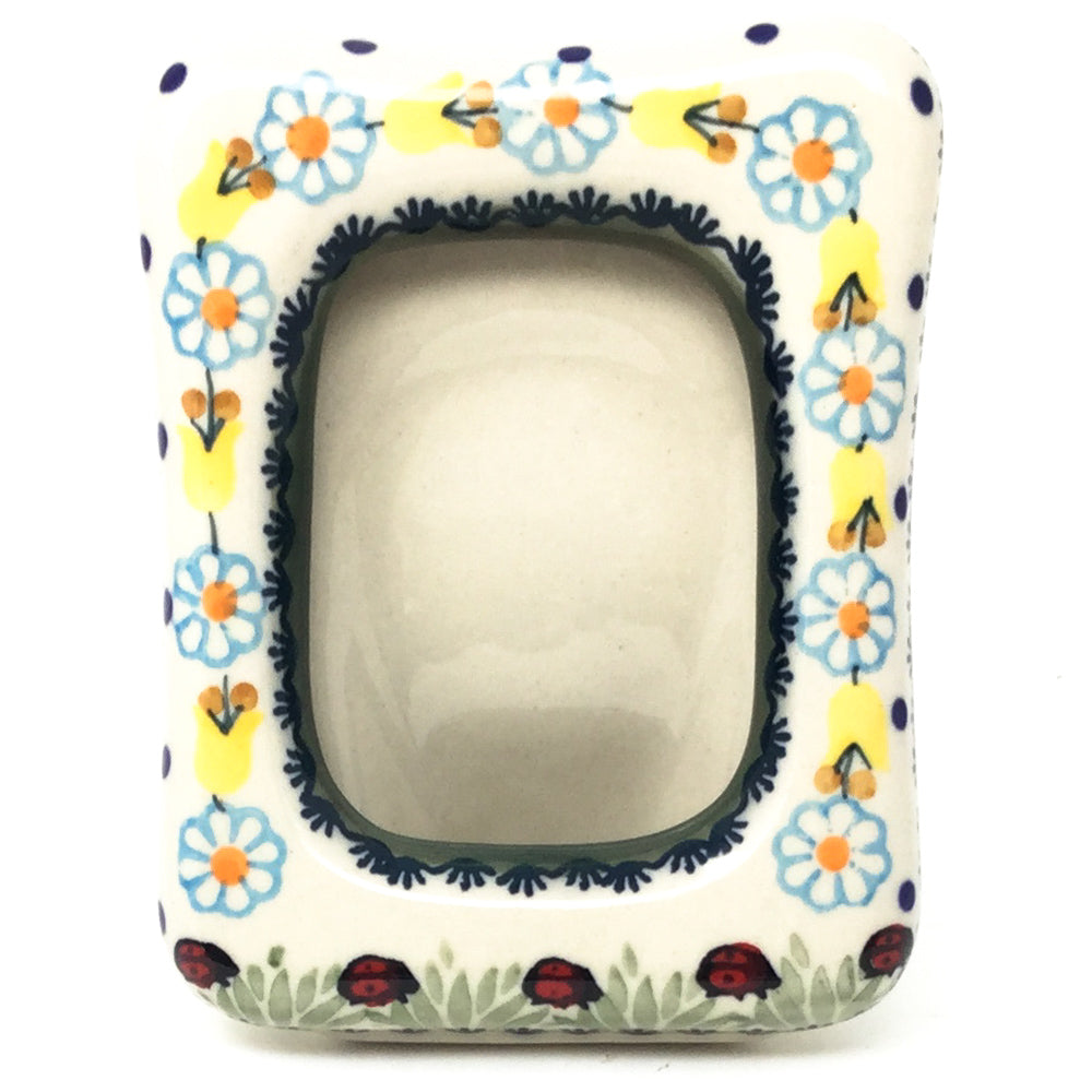 Picture Frame-Miniature in Ladybugs