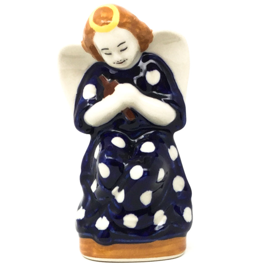 Angel-Miniature in White Polka-Dot