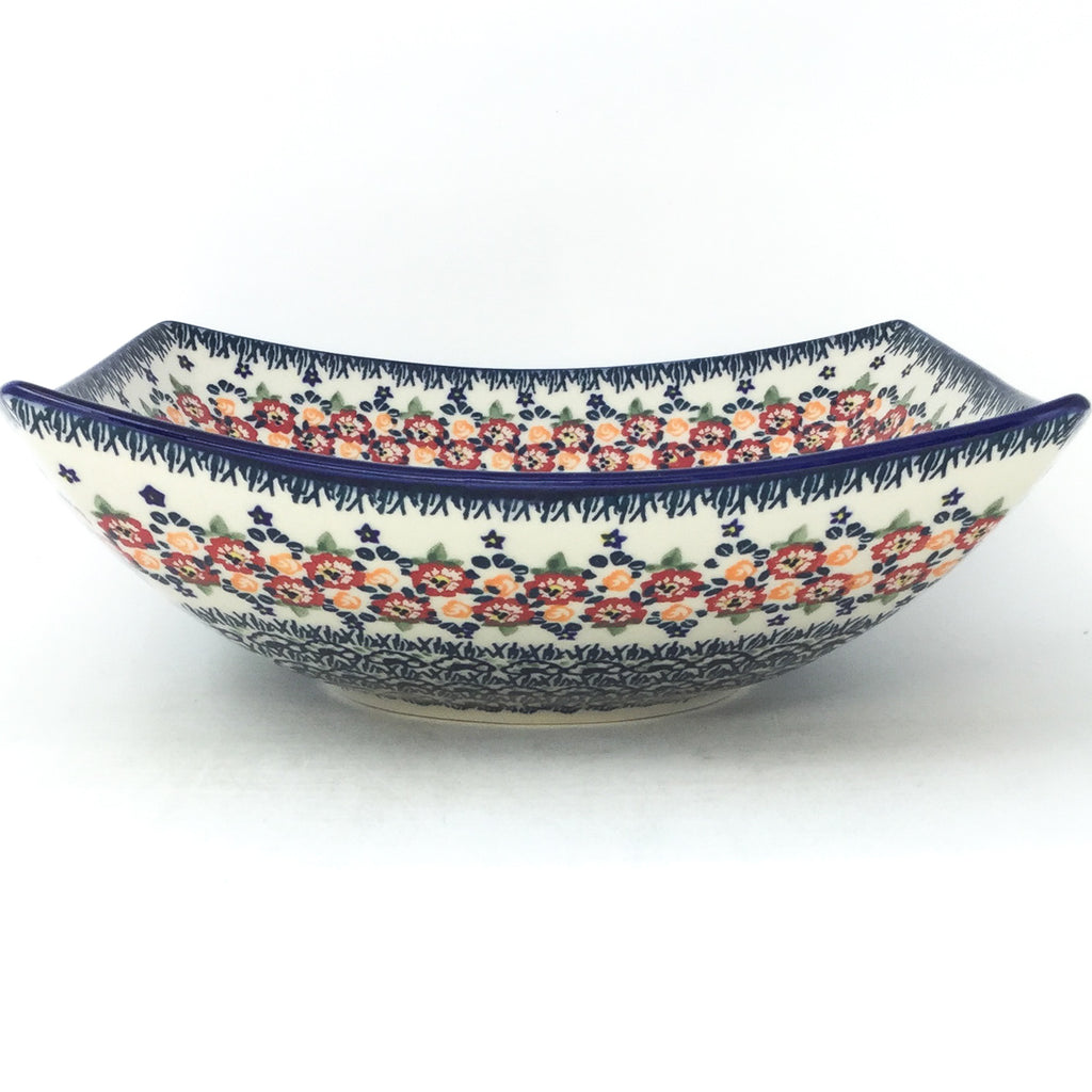 Lg Nut Bowl in Wild Roses