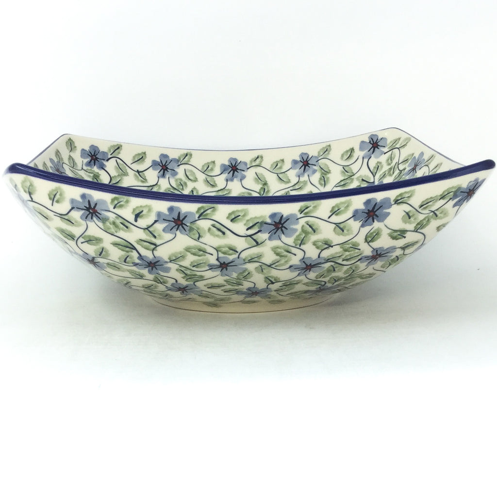 Lg Nut Bowl in Blue Clematis