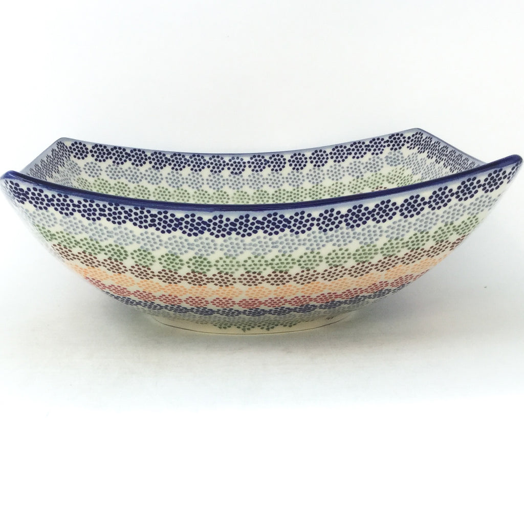 Lg Nut Bowl in Modern Dots