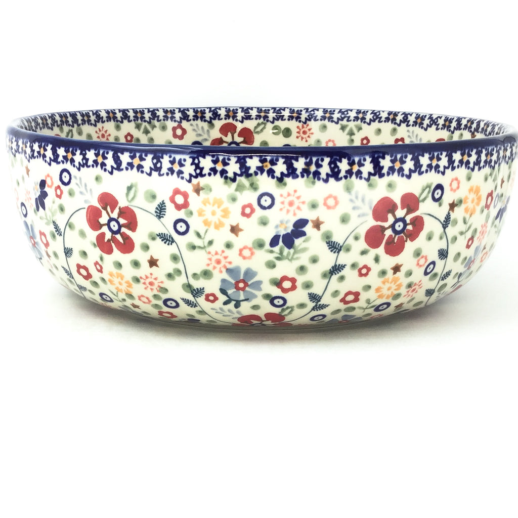 Family Shallow Bowl in Summer Arrangement
