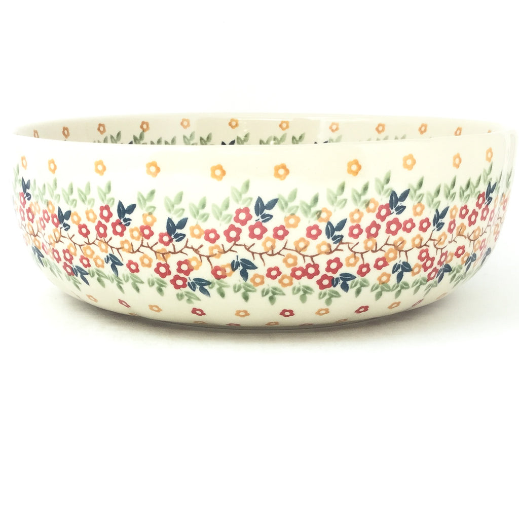 Family Shallow Bowl in Tiny Flowers