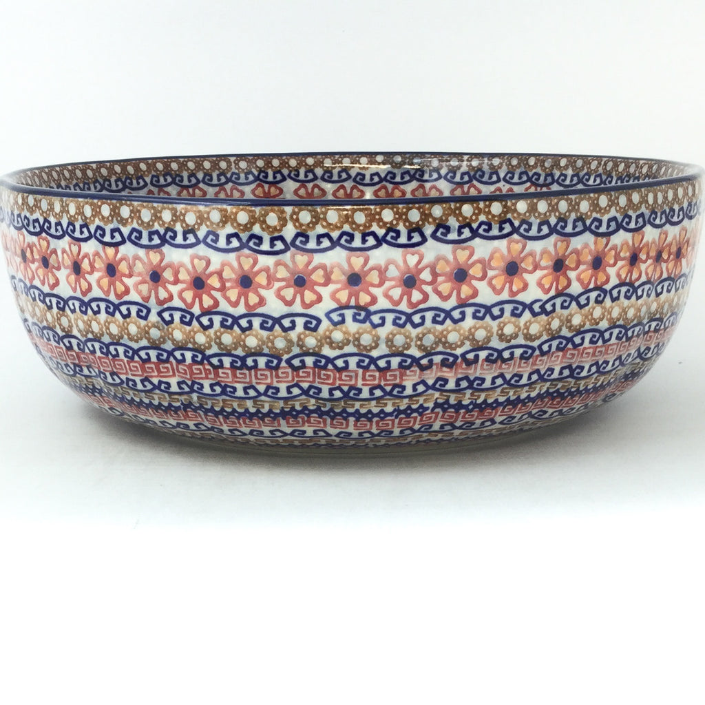 Family Shallow Bowl in Earth Tones