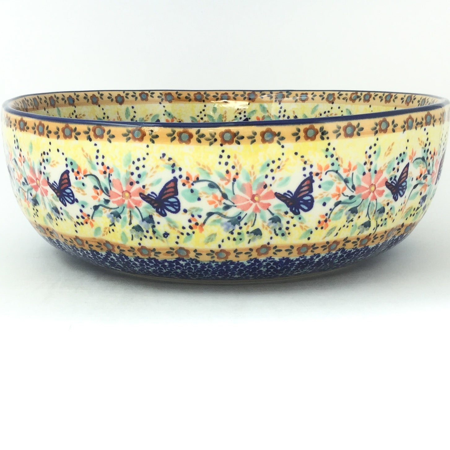 Family Shallow Bowl in Butterfly Meadow