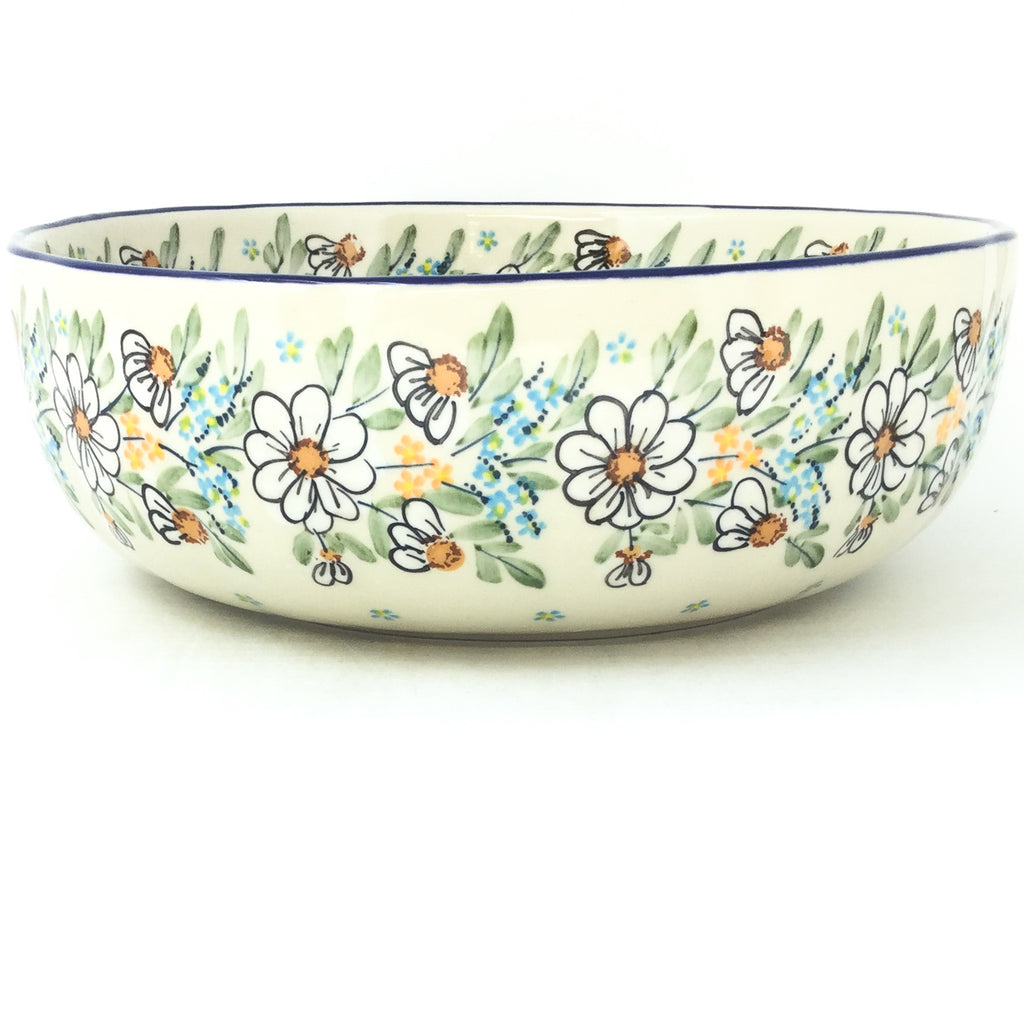 Family Shallow Bowl in Spectacular Daisy