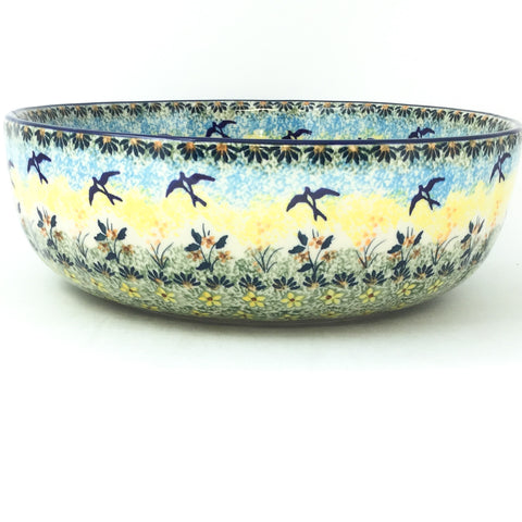 Shallow Bowl in Birds