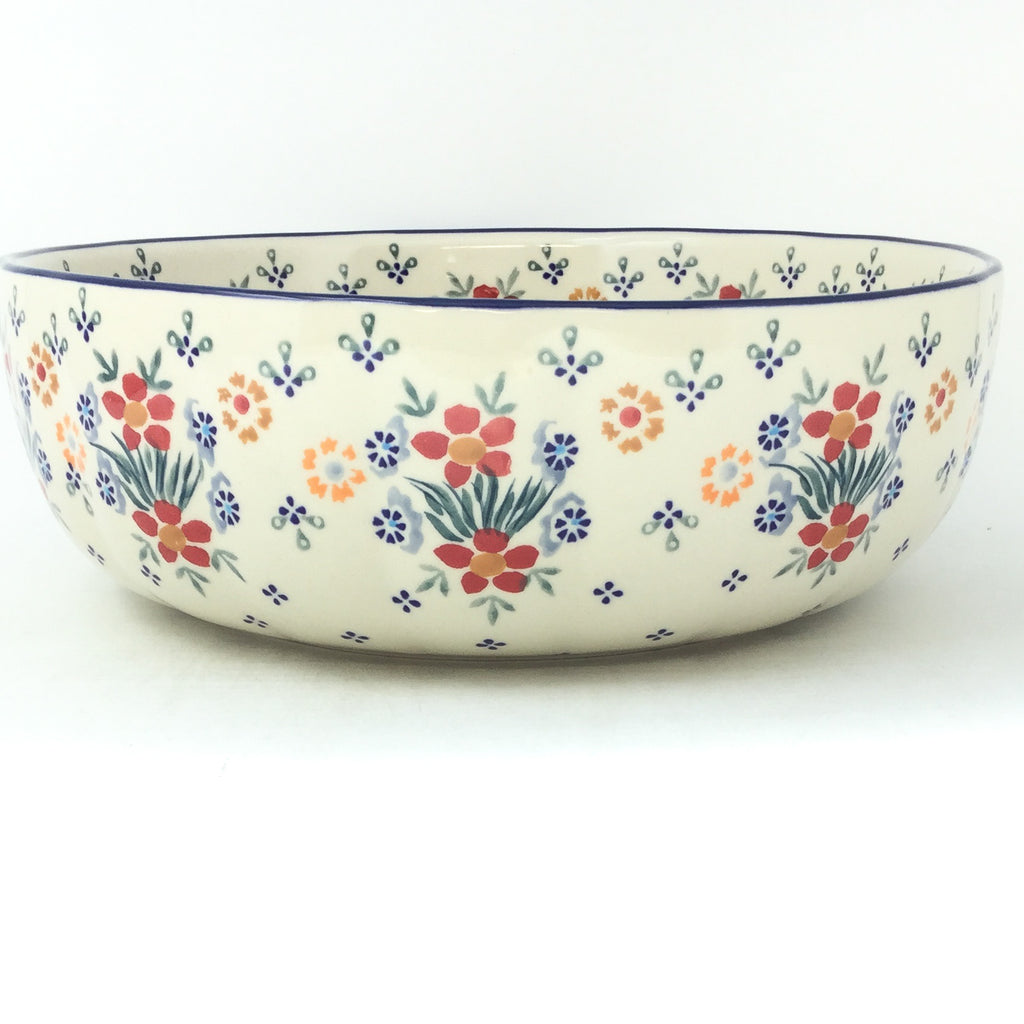 Family Shallow Bowl in Delicate Flowers