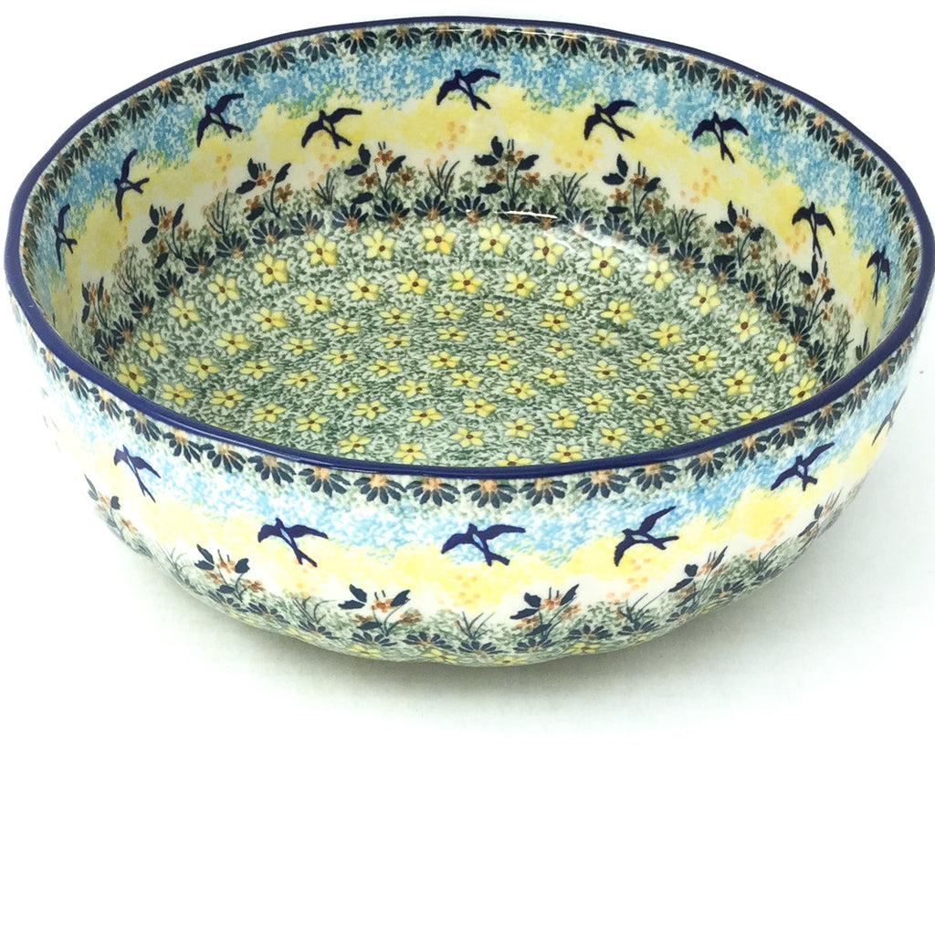 Family Shallow Bowl in Birds