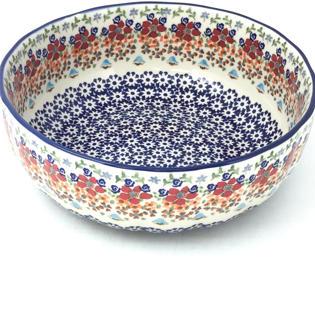 Family Shallow Bowl in Summer