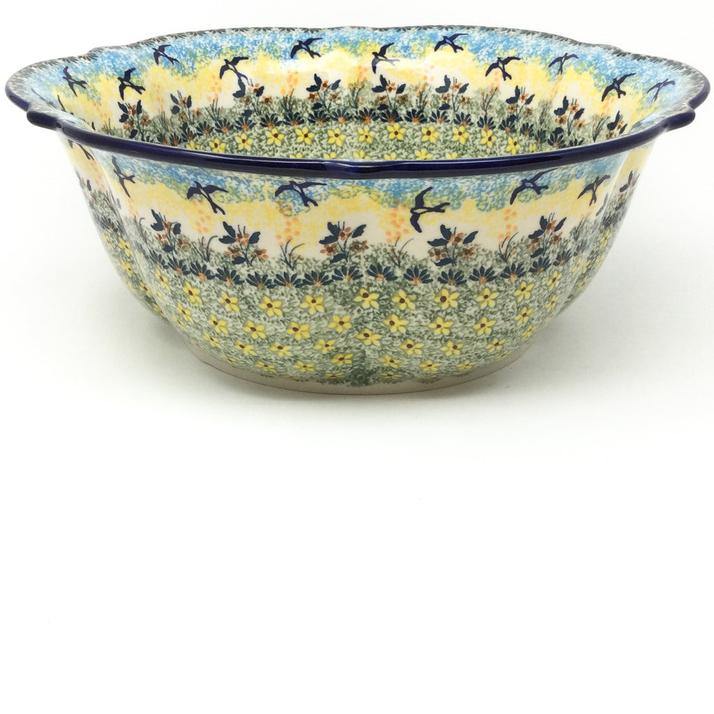 Lg Retro Bowl in Birds
