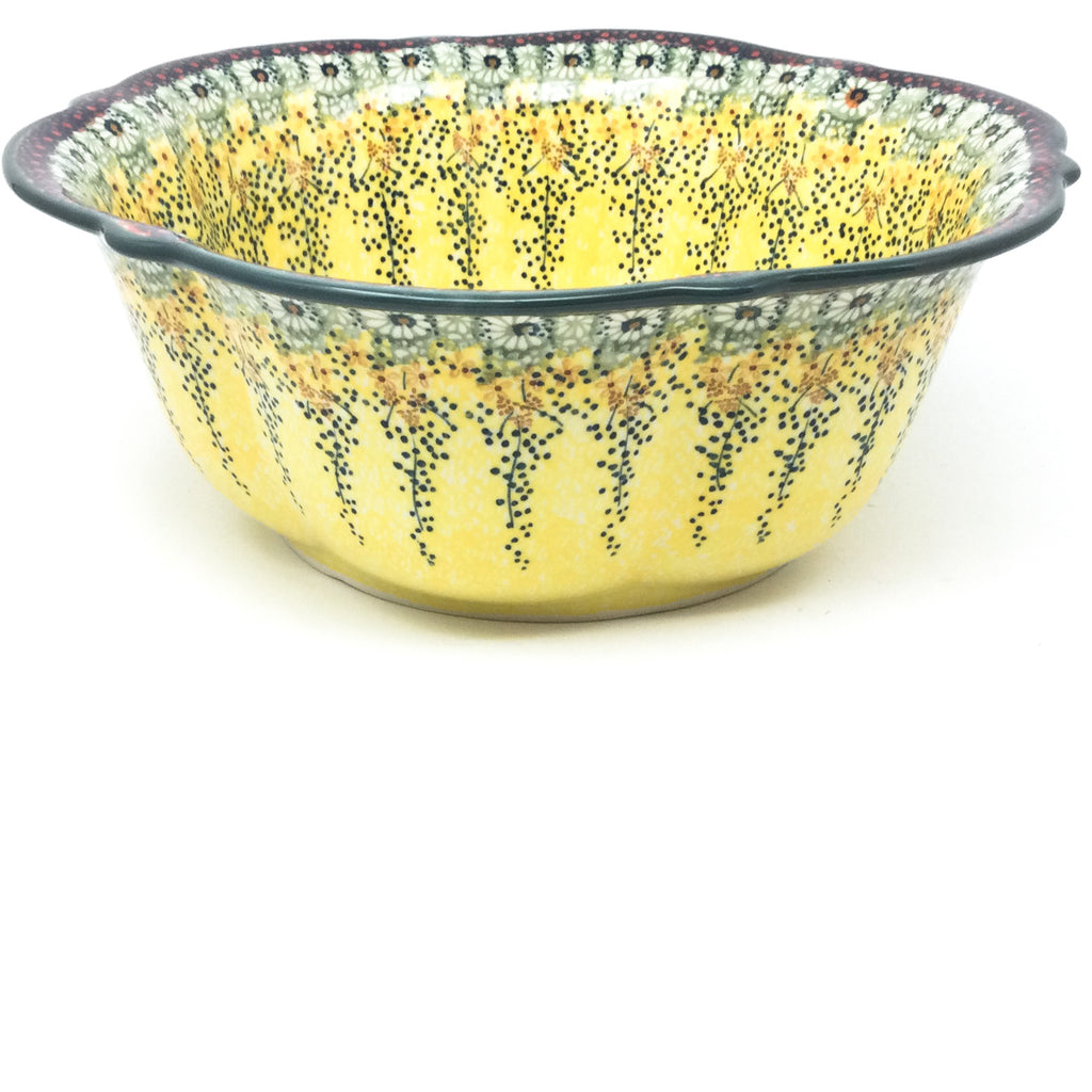 Lg Retro Bowl in Cottage Decor