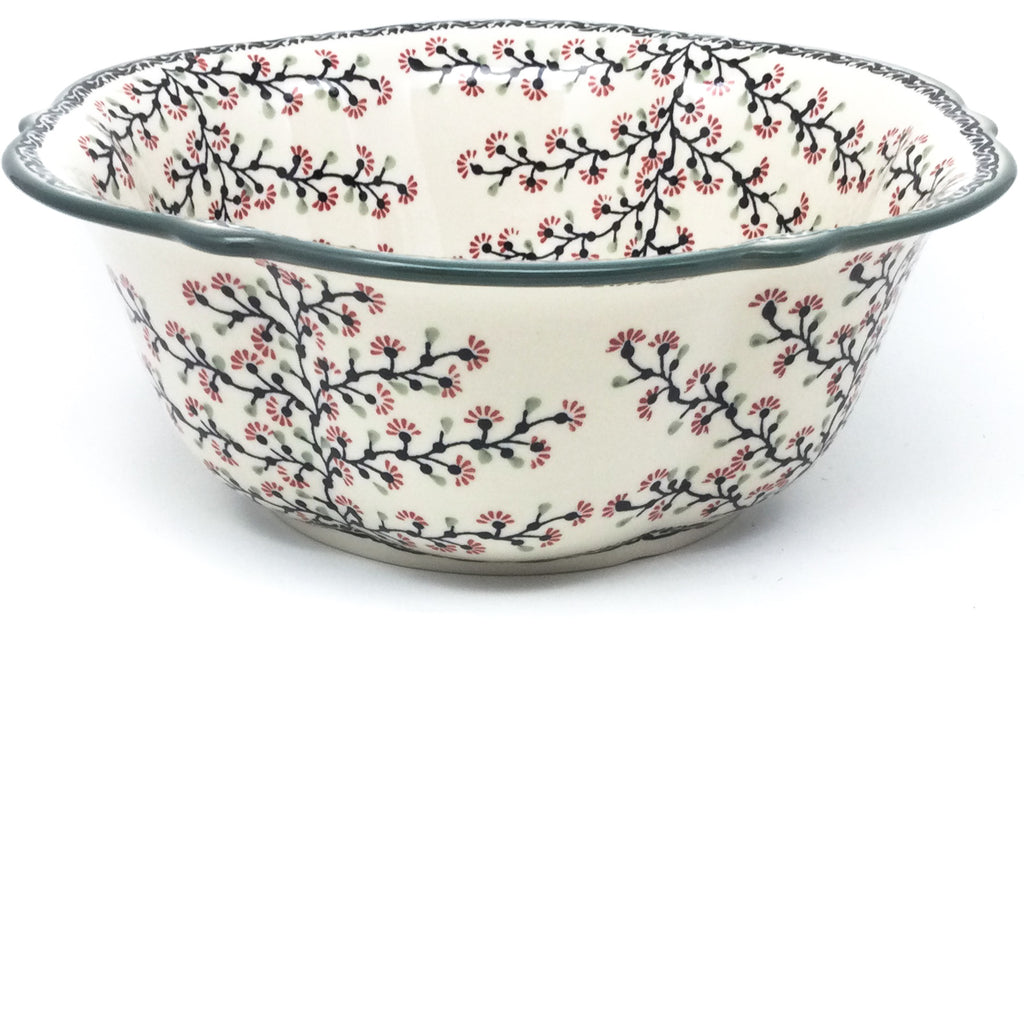 Lg Retro Bowl in Japanese Cherry
