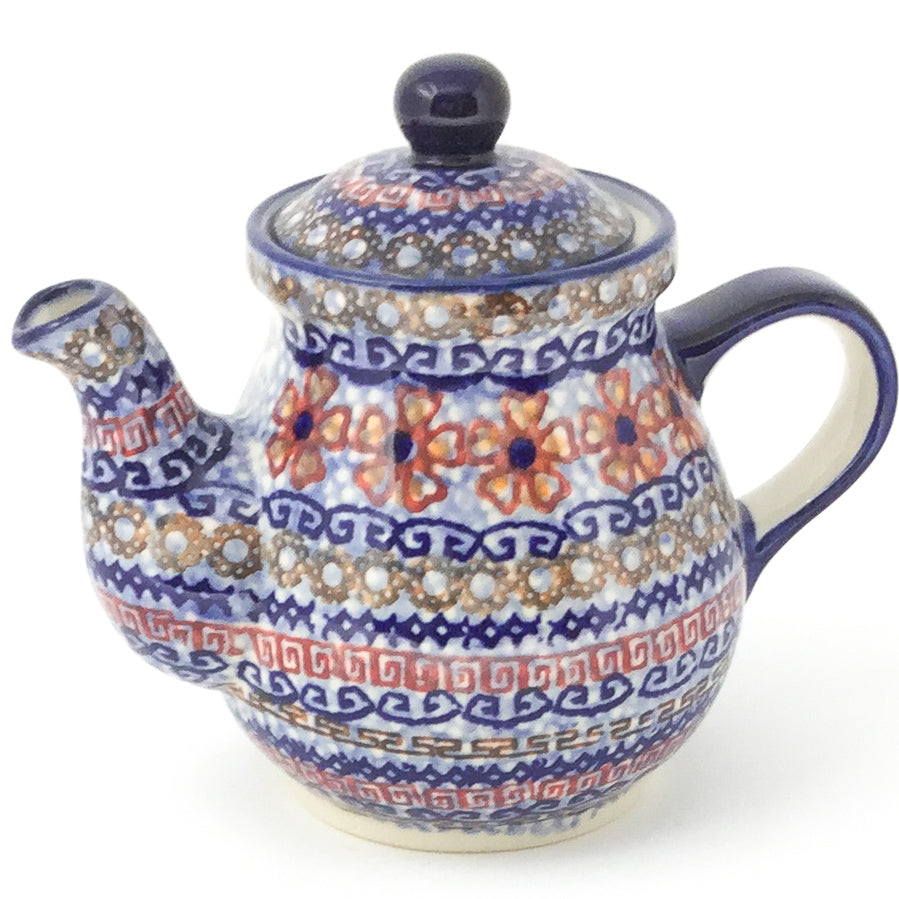 Night Time Teapot 12 oz in Earth Tones