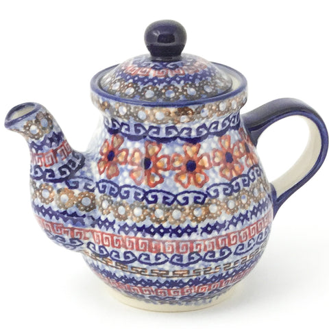Night Time Teapot 10 oz in Earth Tones