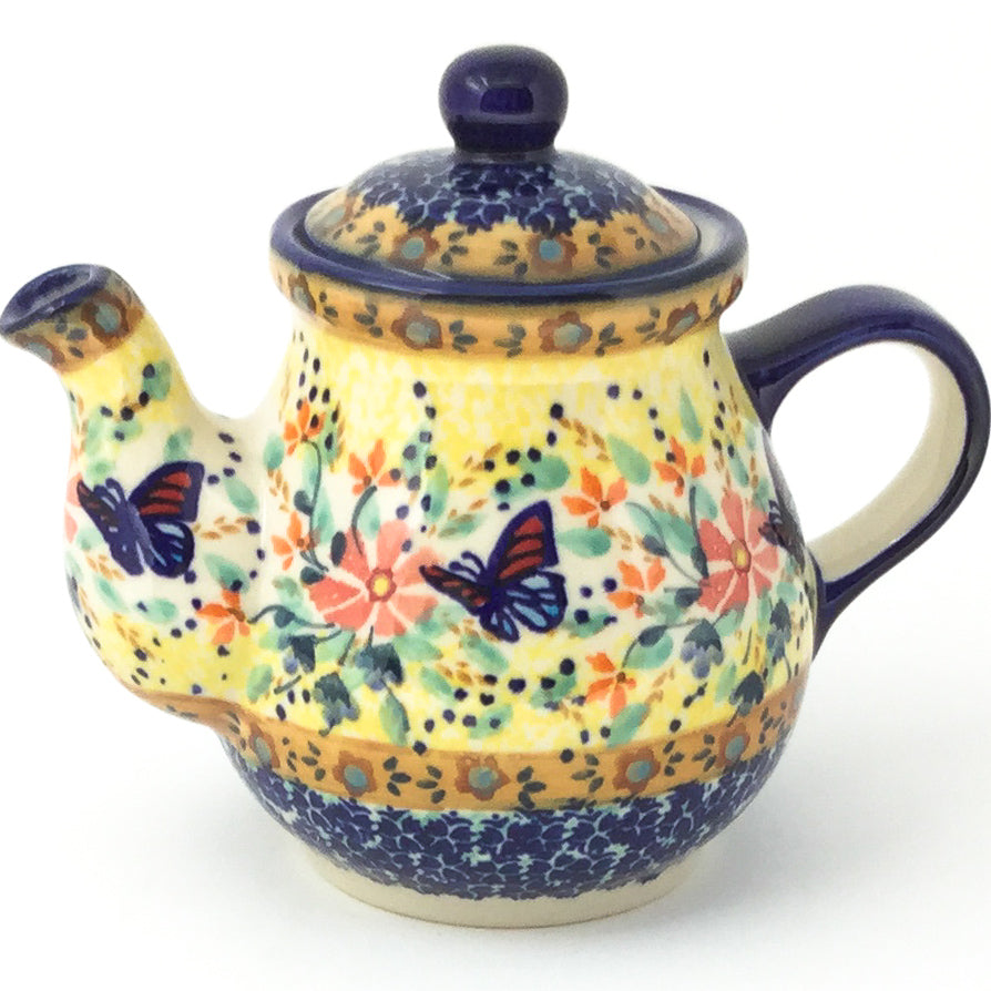Night Time Teapot 12 oz in Butterfly Meadow