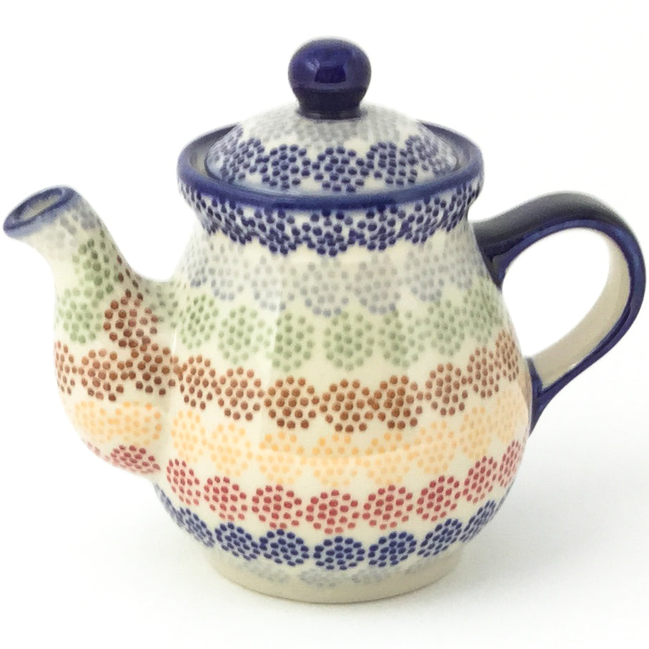 Night Time Teapot 12 oz in Modern Dots