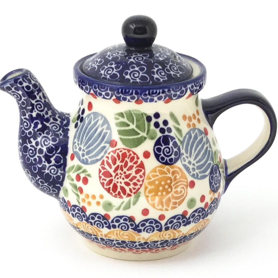 Night Time Teapot 12 oz in Modern Berries
