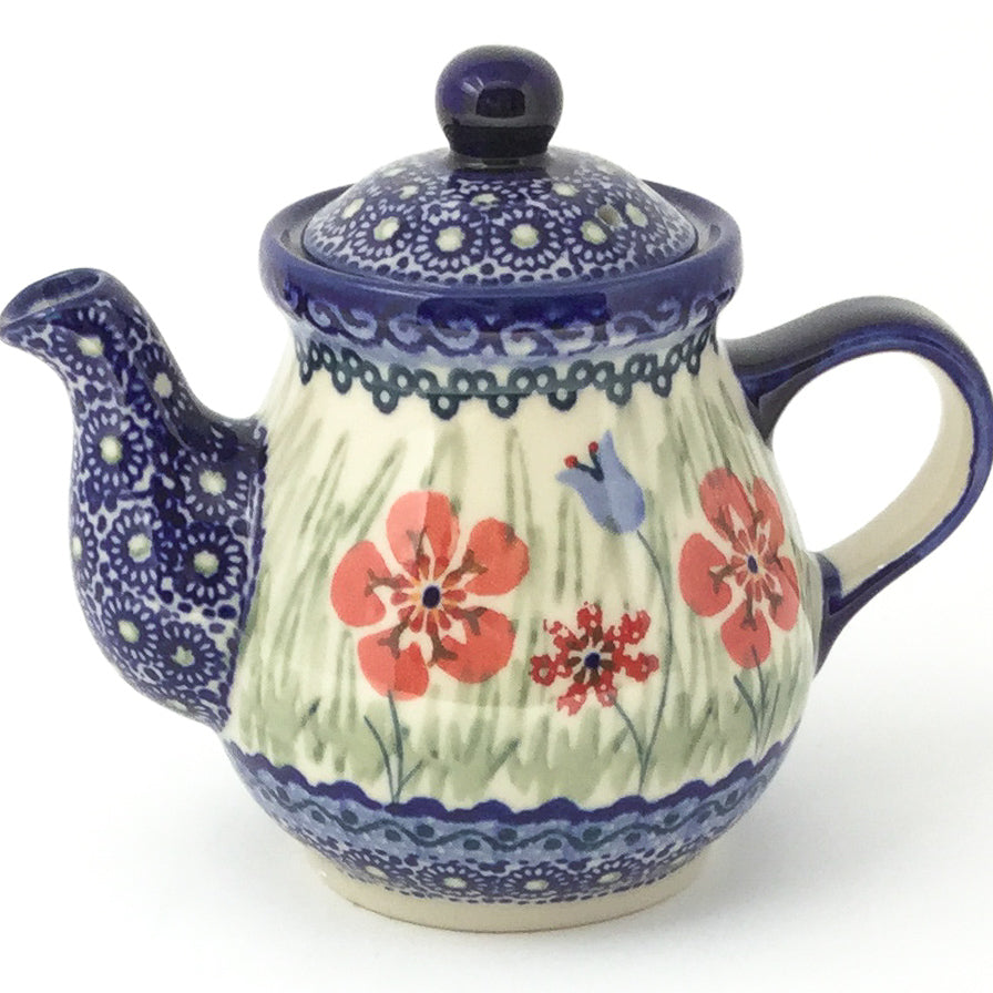Night Time Teapot 12 oz in Spring Meadow
