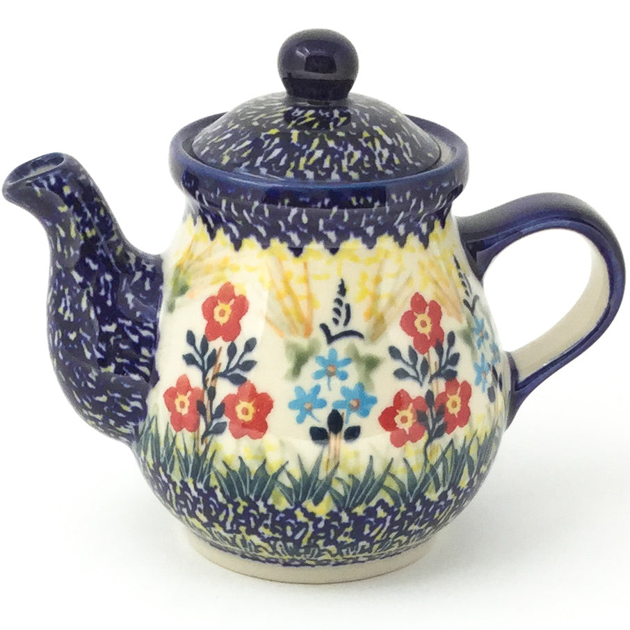Night Time Teapot 12 oz in Autumn Bouquet