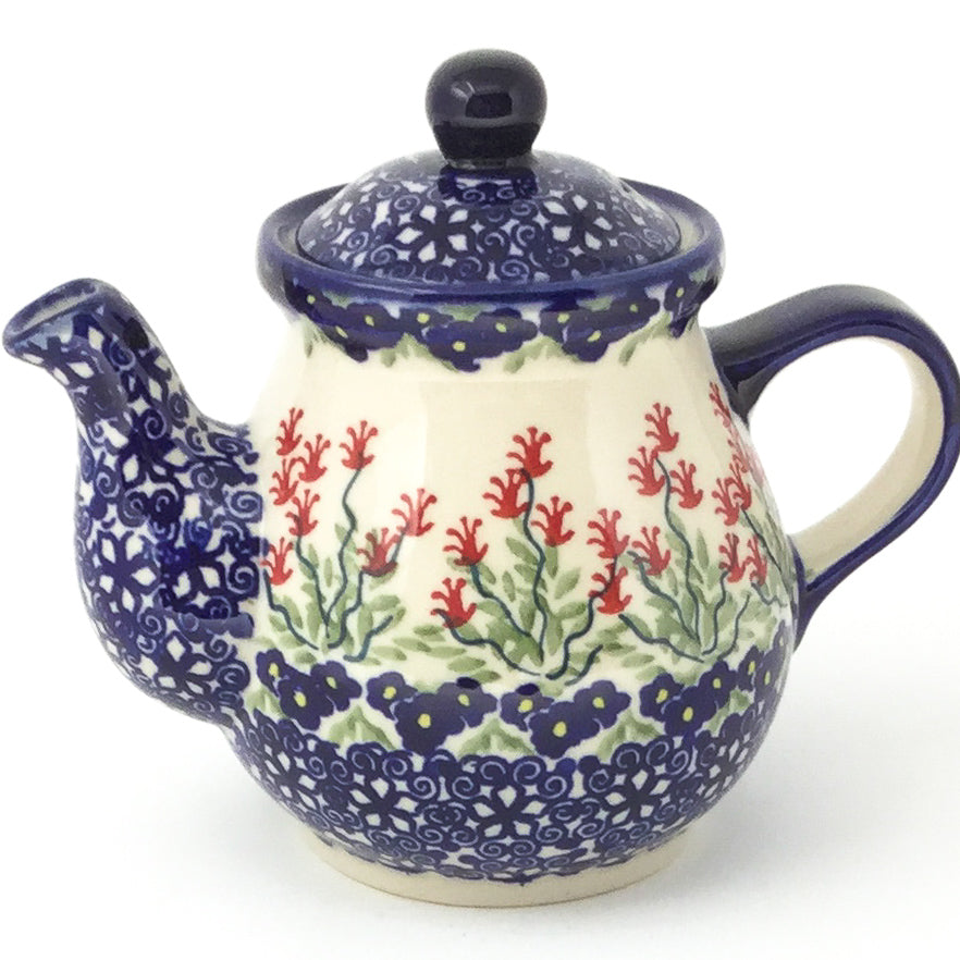 Night Time Teapot 12 oz in Field of Flowers
