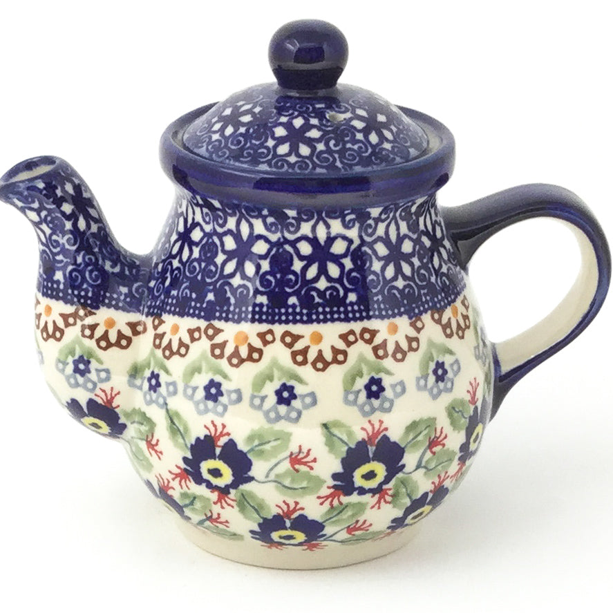 Night Time Teapot 12 oz in Forget-Me-Not