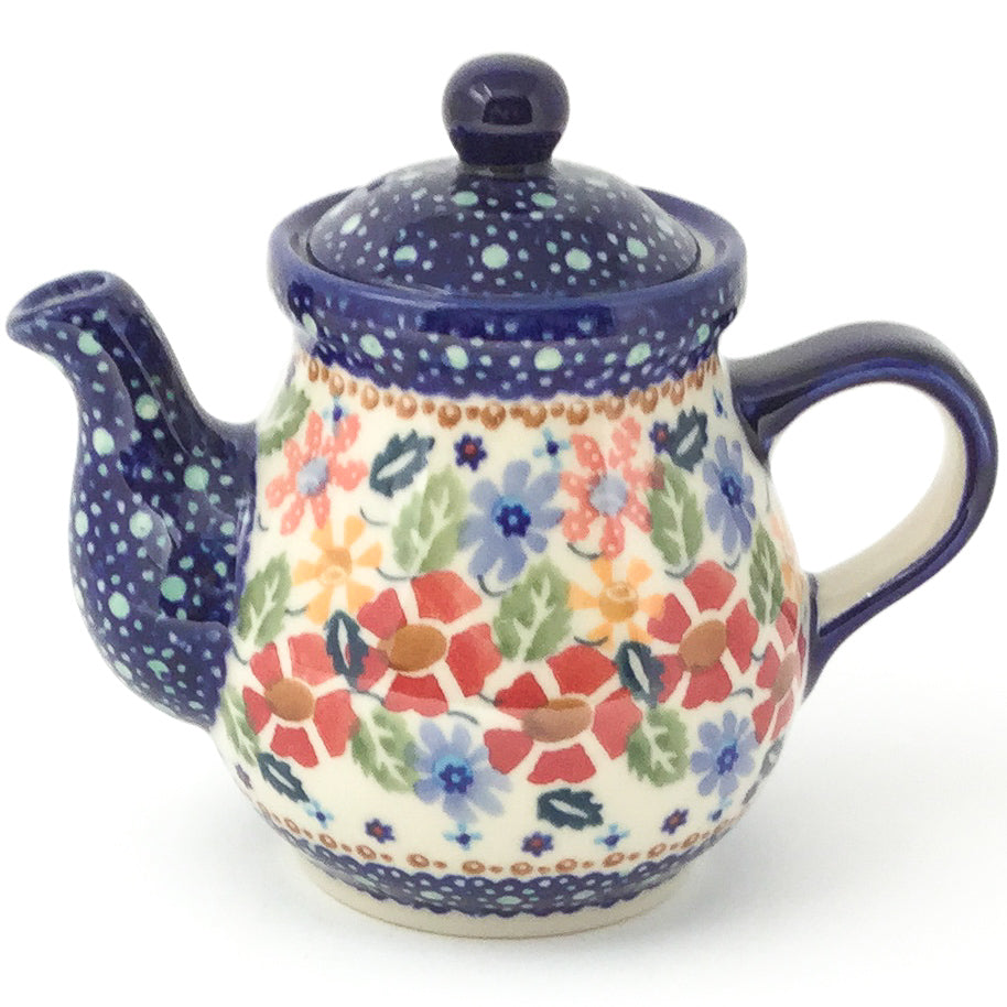 Night Time Teapot 12 oz in Wild Flowers