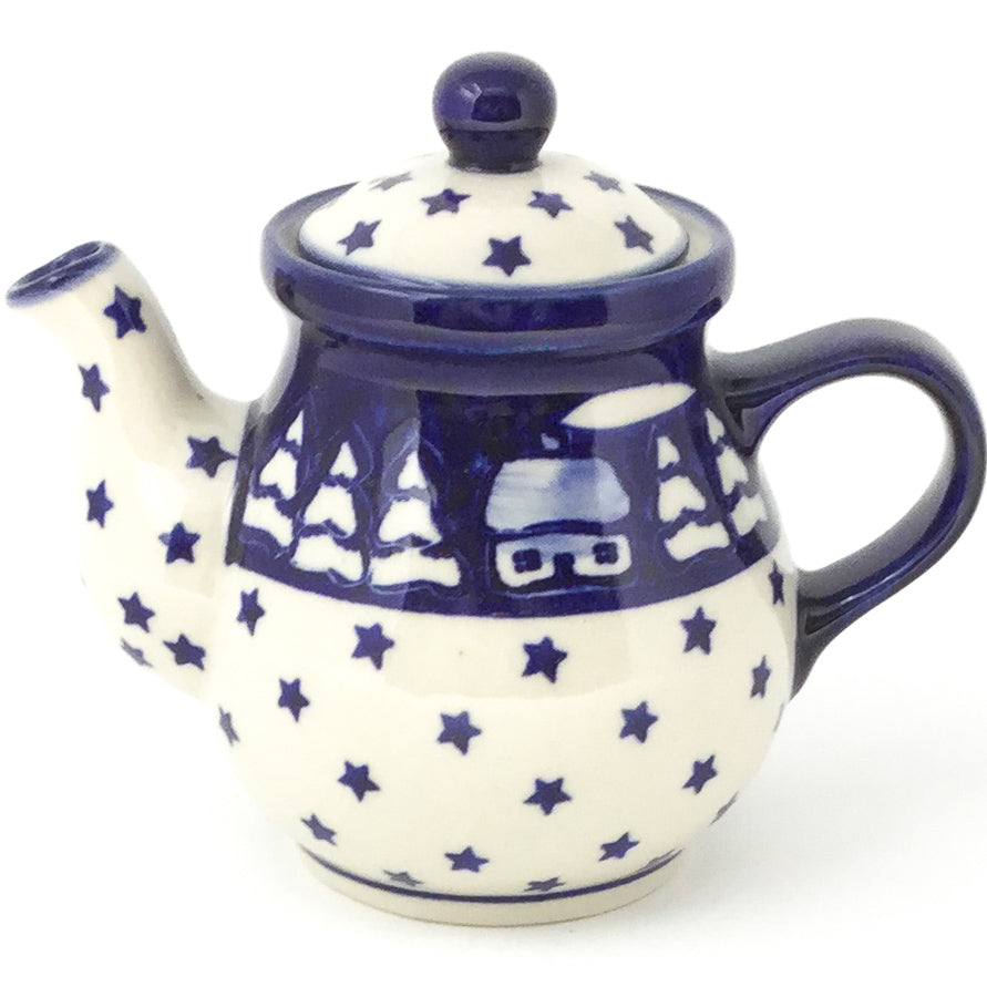 Night Time Teapot 12 oz in Winter