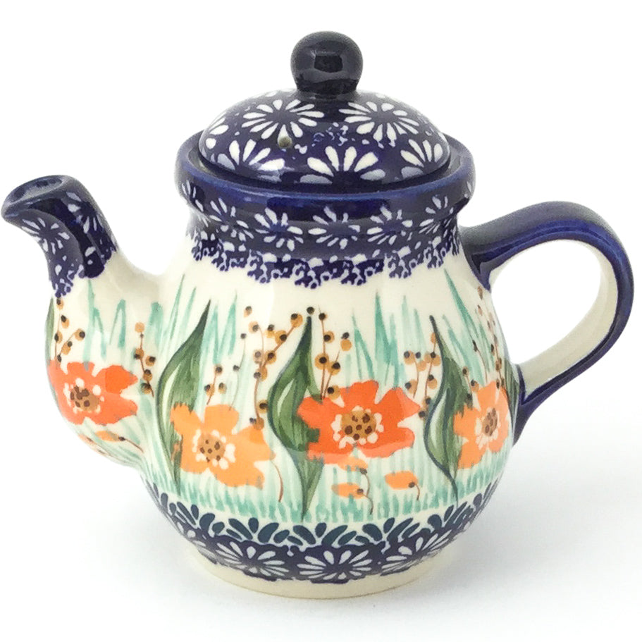 Night Time Teapot 12 oz in Sunshine Meadow