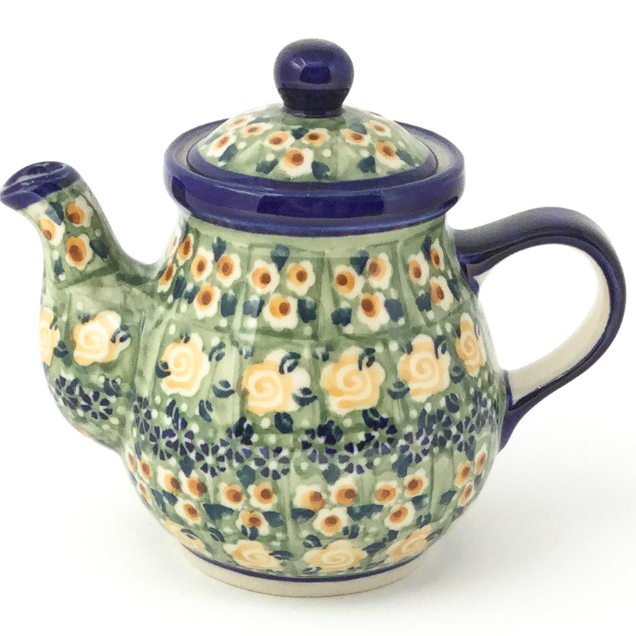 Night Time Teapot 12 oz in Rose Garden