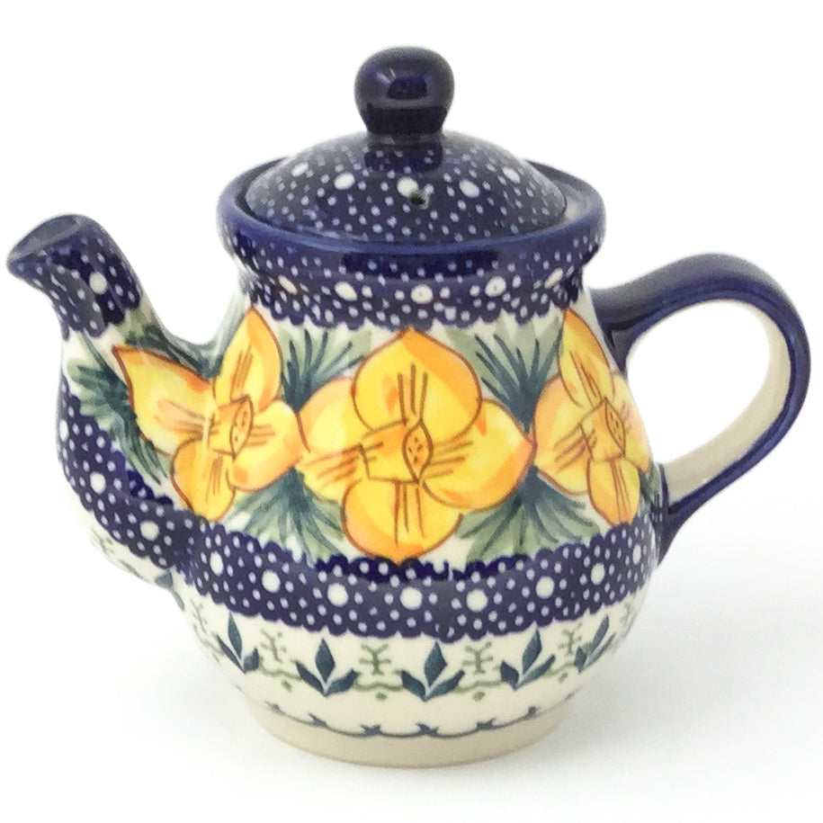 Night Time Teapot 12 oz in Daffodils