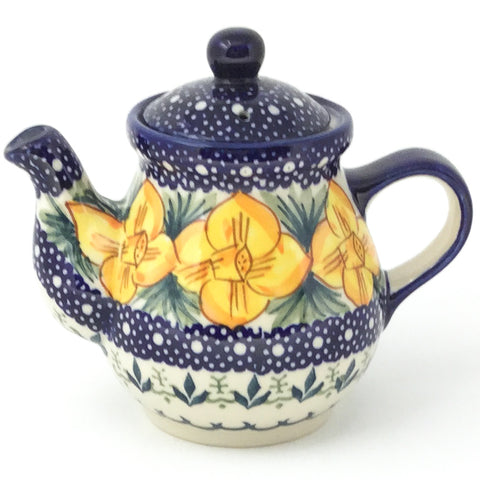 Night Time Teapot 10 oz in Daffodils