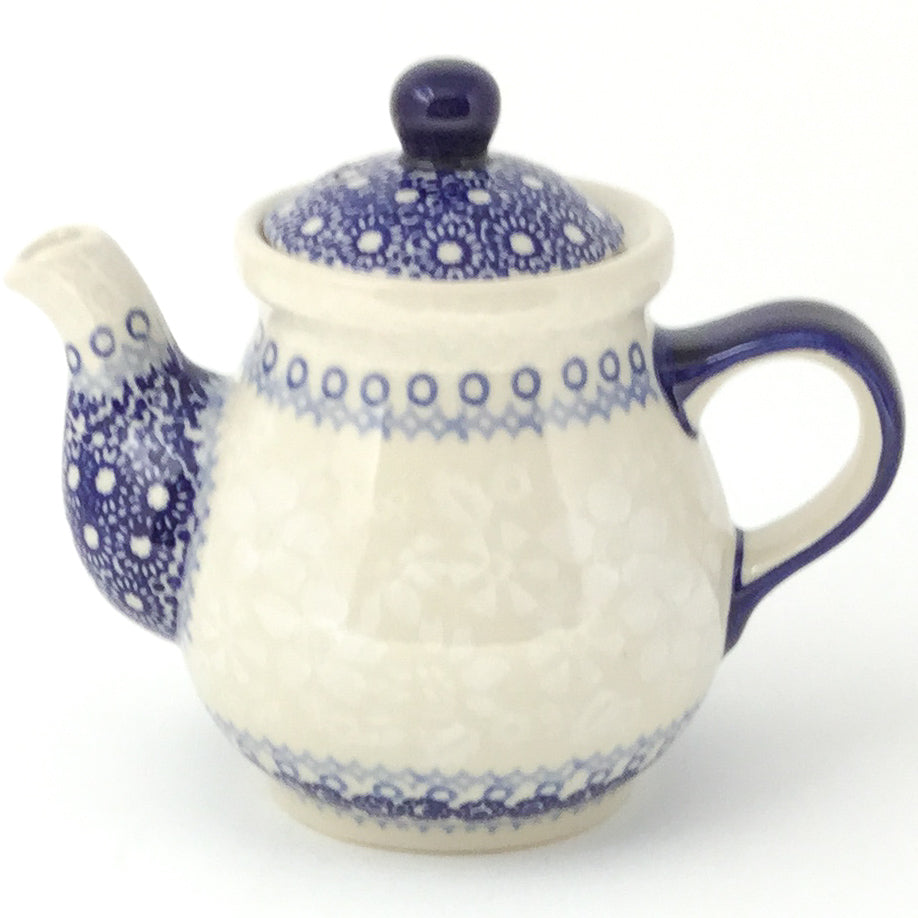 Night Time Teapot 12 oz in Delicate Blue