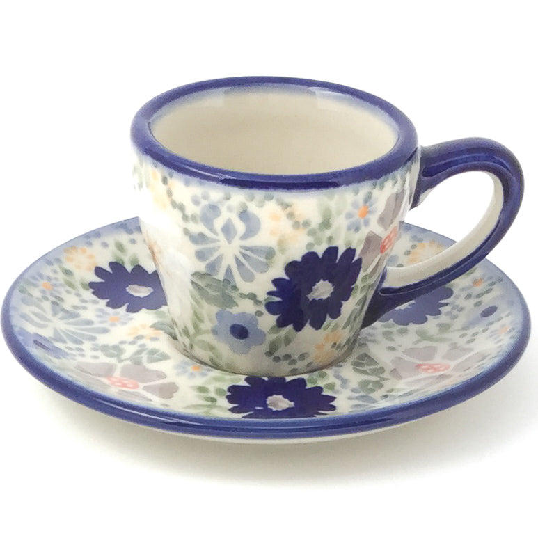 Espresso Cup w/Saucer 2 oz in Morning Breeze
