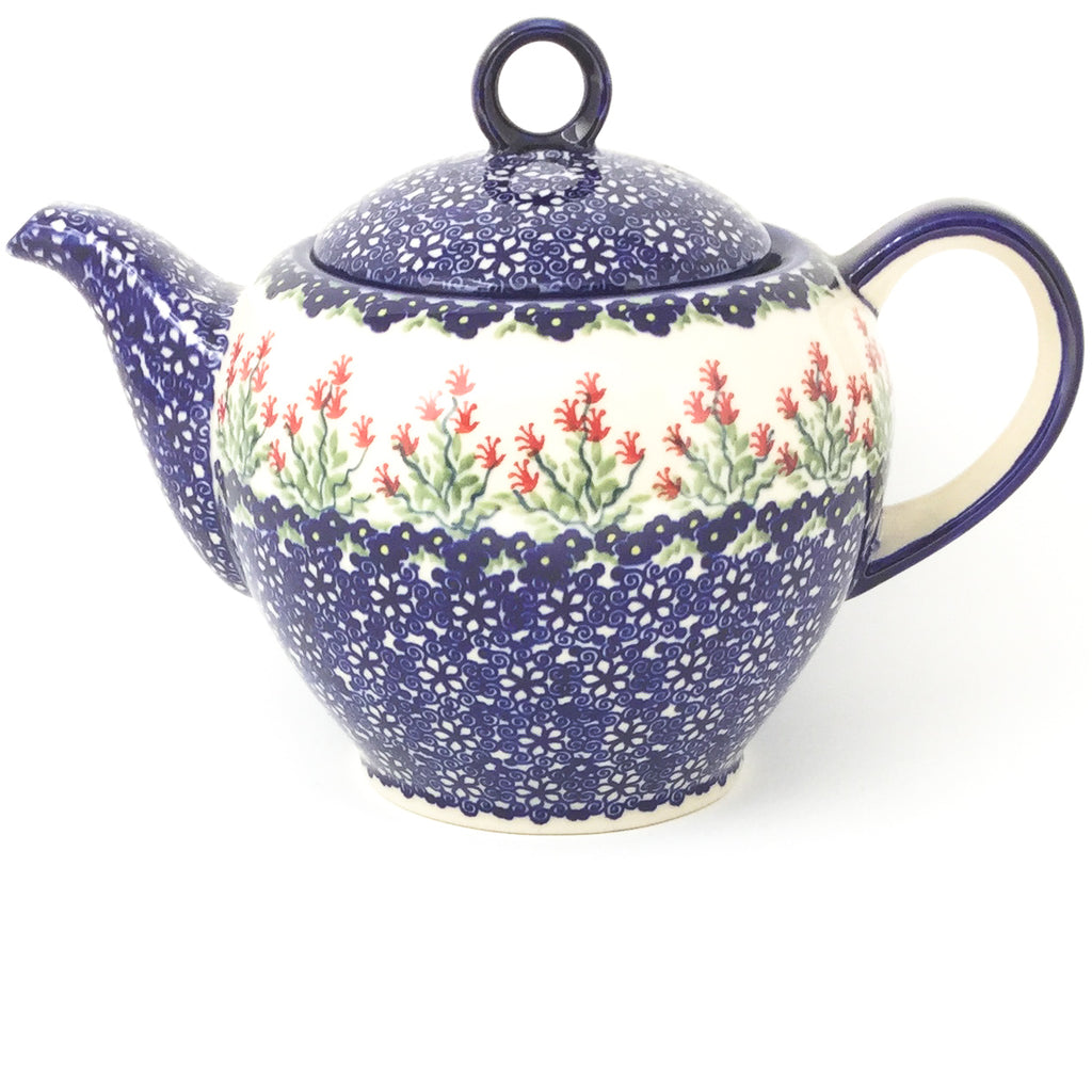 Victorian Teapot 1.75 qt in Field of Flowers
