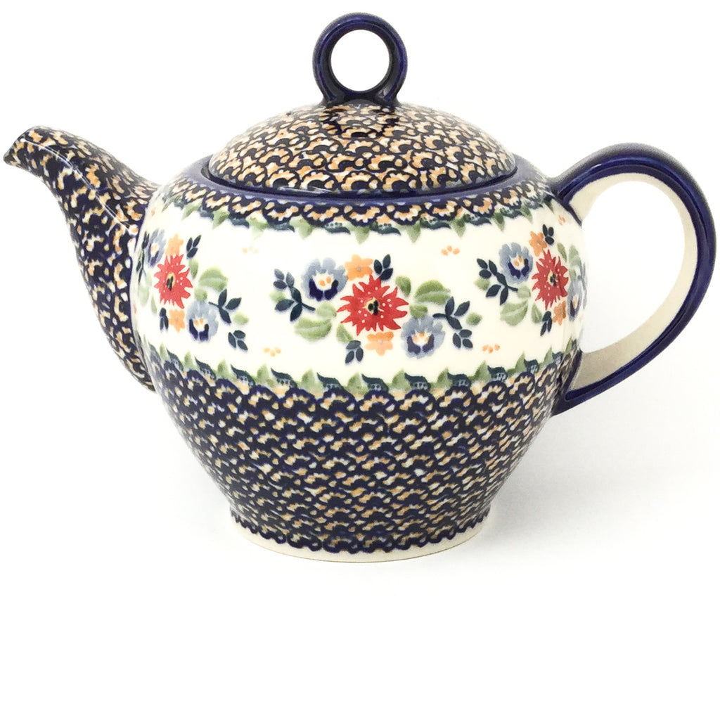 Victorian Teapot 1.75 qt in Late Spring