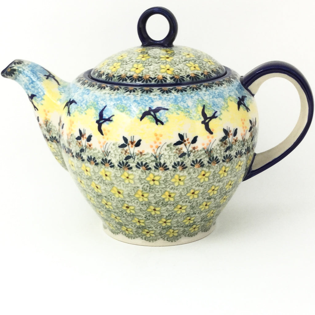 Victorian Teapot 1.75 qt in Birds
