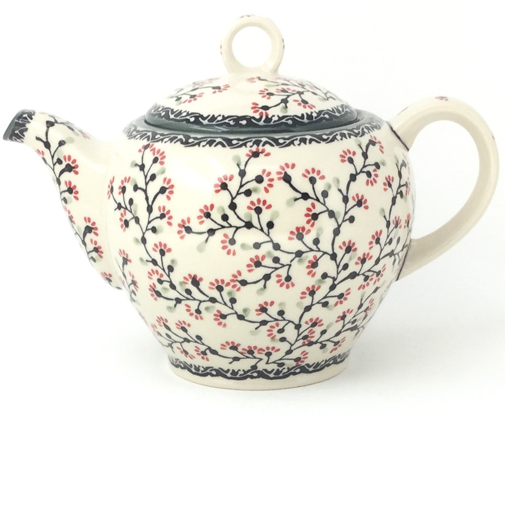 Victorian Teapot 1.75 qt in Japanese Cherry