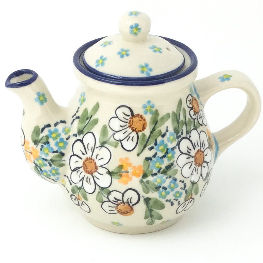 Night Time Teapot 12 oz in Spectacular Daisy