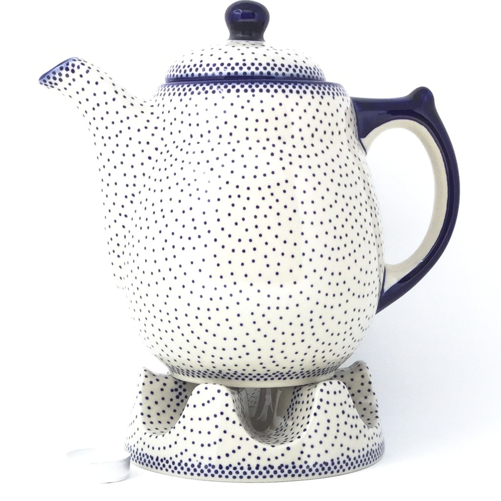 Tall Teapot 2 qt in Simple Elegance
