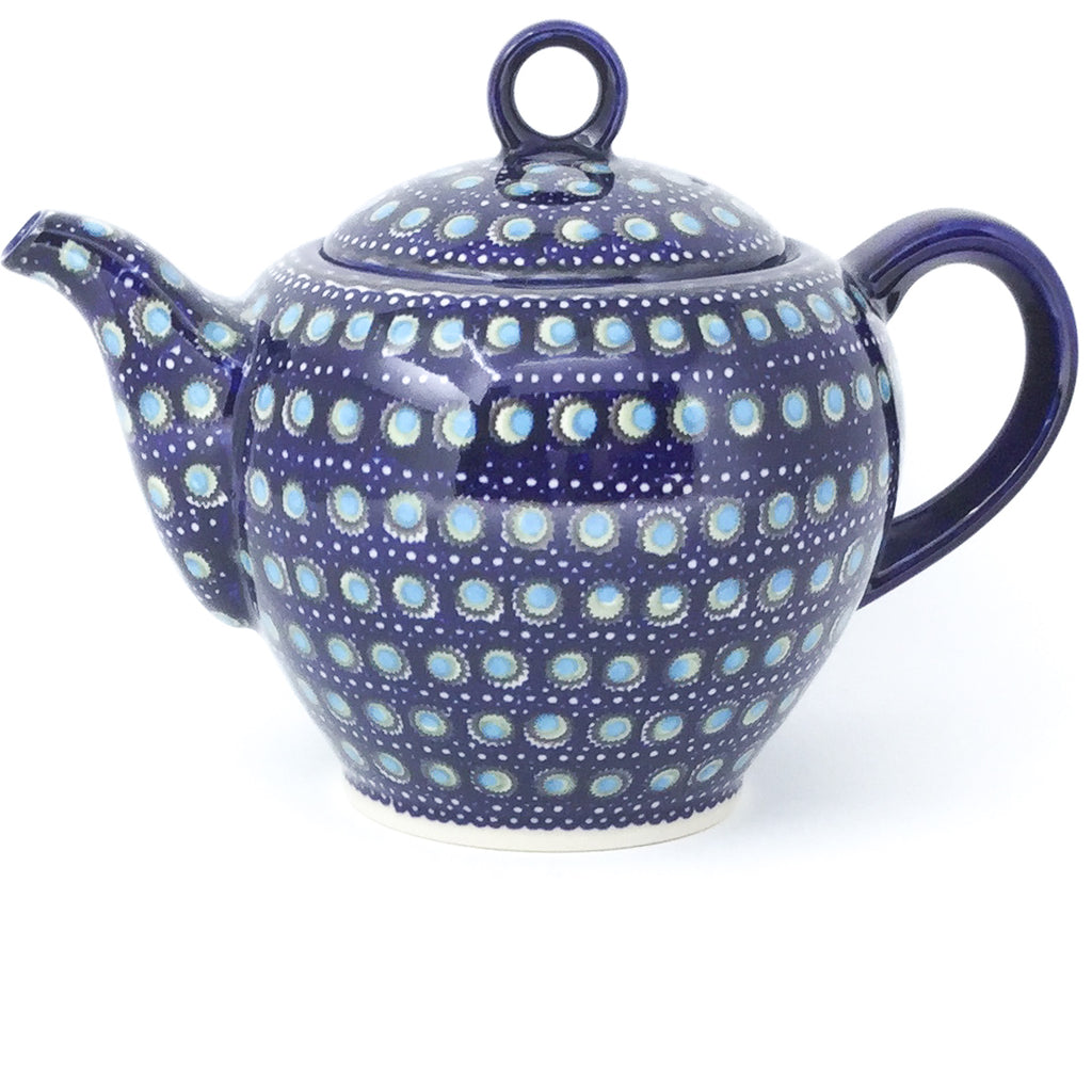 Victorian Teapot 1.75 qt in Blue Moon