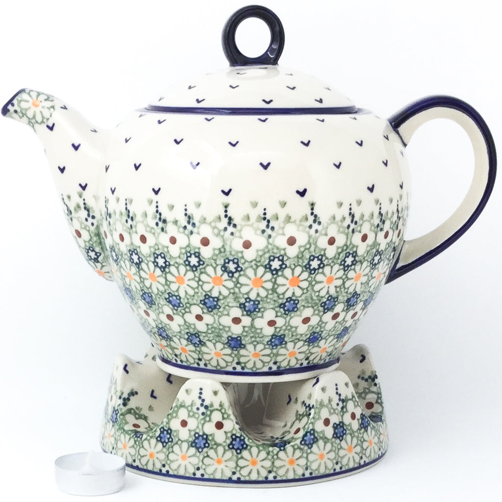 Victorian Teapot 1.75 qt in Spring